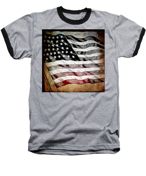 Star Spangled Banner Baseball T-Shirt