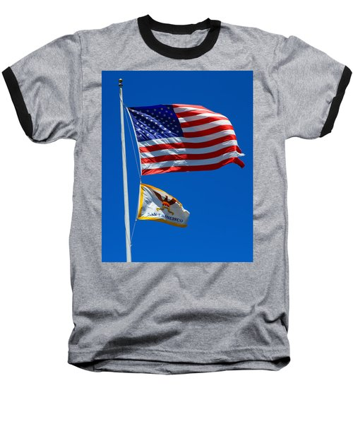 Star Spangled Banner Baseball T-Shirt