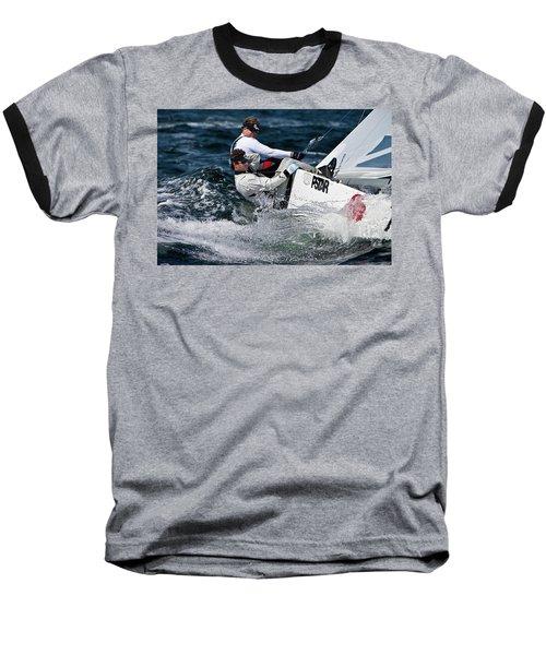 Star Splash Baseball T-Shirt