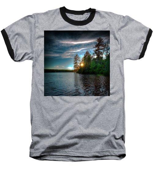 Star Sunset Baseball T-Shirt by David Patterson