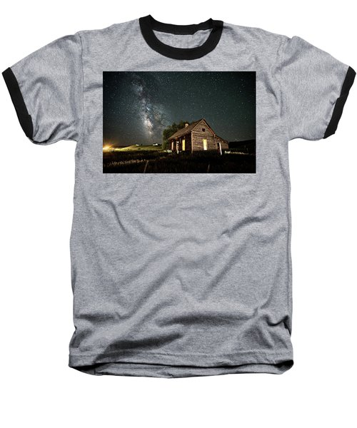 Star Valley Cabin Baseball T-Shirt
