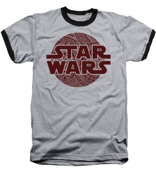 Star Wars Art - Logo - Red 02 Baseball T-Shirt