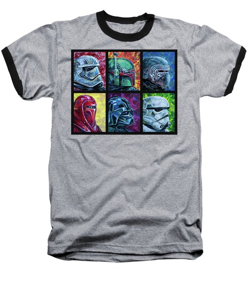 Star Wars Helmet Series - Collage Baseball T-Shirt