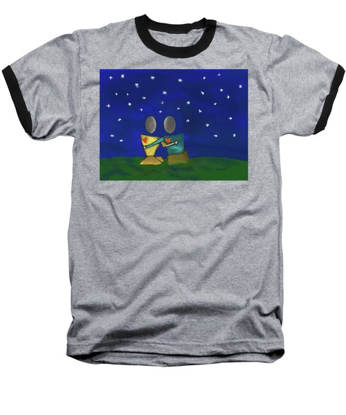 Star Watching Baseball T-Shirt
