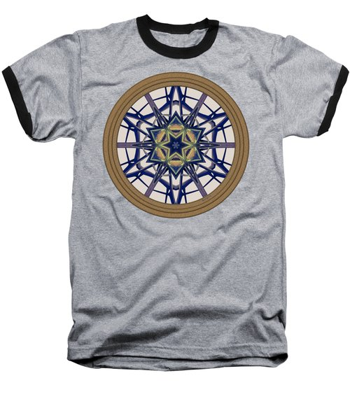 Star Window I Baseball T-Shirt by Lynde Young