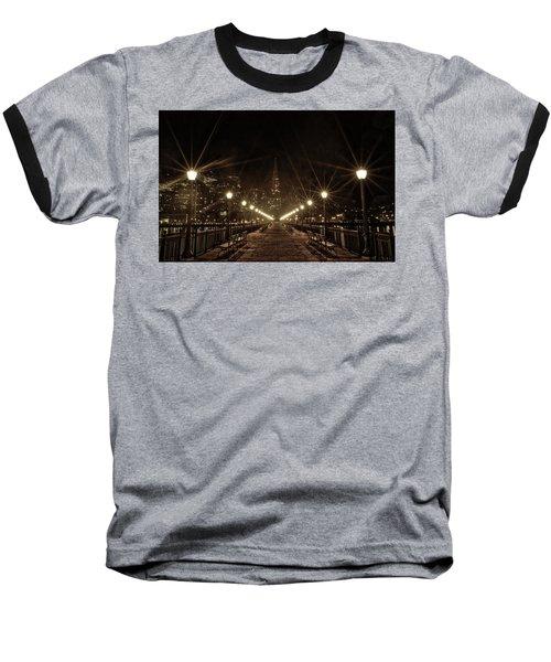 Starburst Lights Baseball T-Shirt
