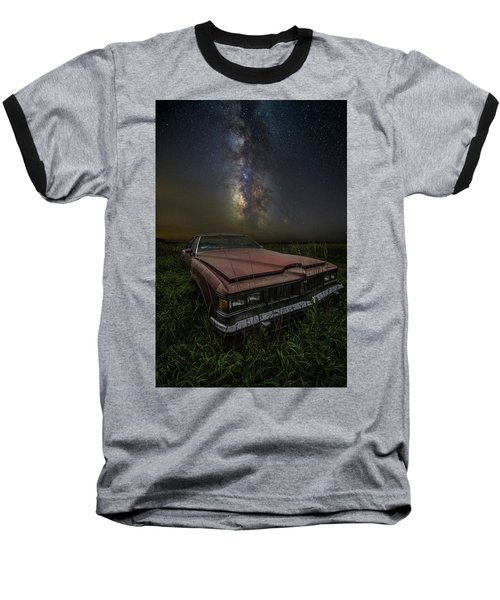 Baseball T-Shirt featuring the photograph Stardust And Rust - Pontiac by Aaron J Groen