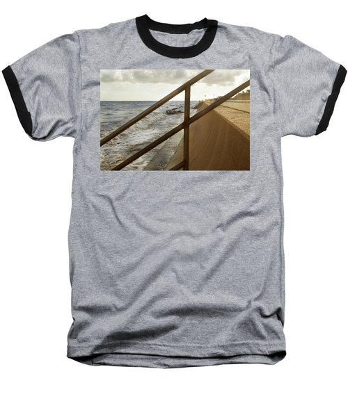 Stare Through The Lines Baseball T-Shirt