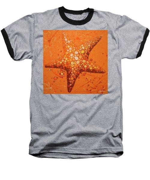 Starfish In Coral Baseball T-Shirt