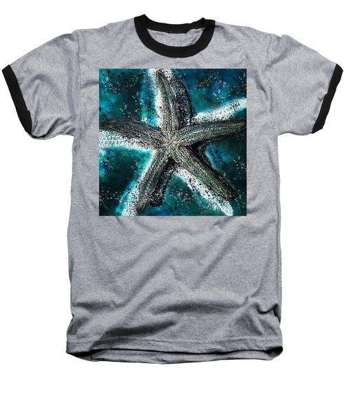 Starfish Ocean Deep Baseball T-Shirt