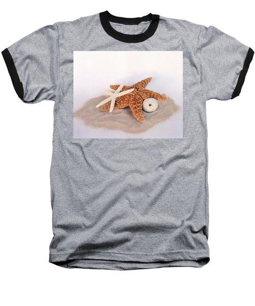 Starfish Still Life Baseball T-Shirt