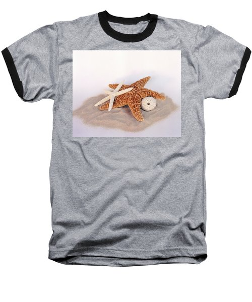 Starfish Still Life Baseball T-Shirt