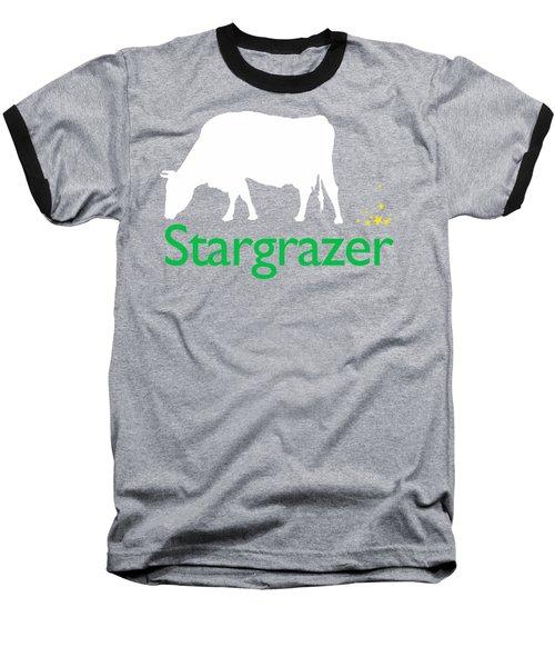 Stargrazer Baseball T-Shirt by Jim Pavelle