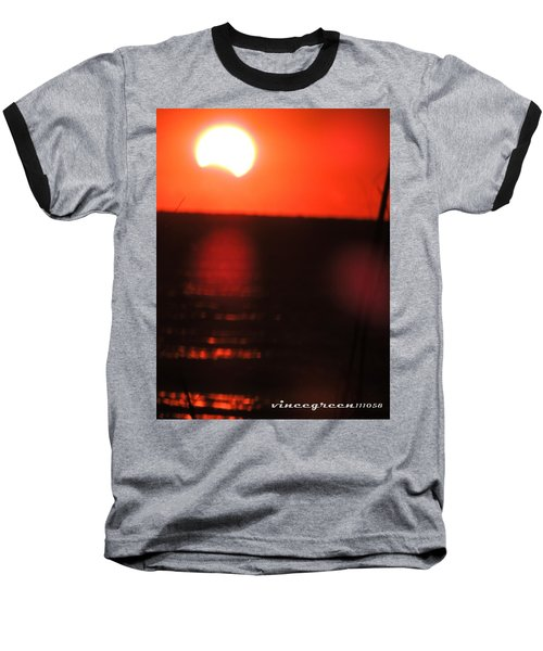 Staring Into A Star Eclipsed Baseball T-Shirt