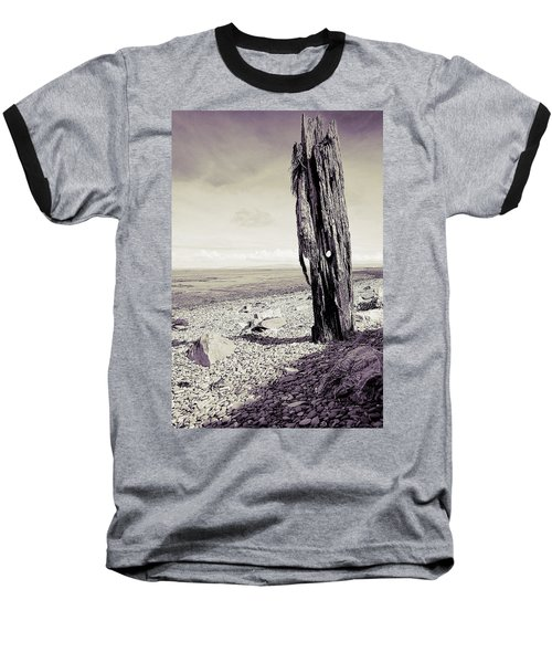 Baseball T-Shirt featuring the photograph Stark Reality by Keith Elliott