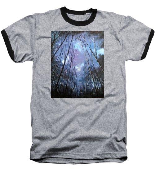 Starlight Baseball T-Shirt by Barbara O'Toole