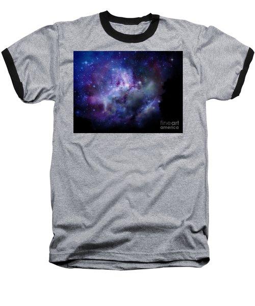 Starlight Baseball T-Shirt by Christy Ricafrente