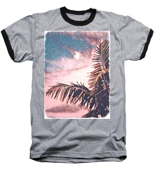 Starlight Palm Baseball T-Shirt