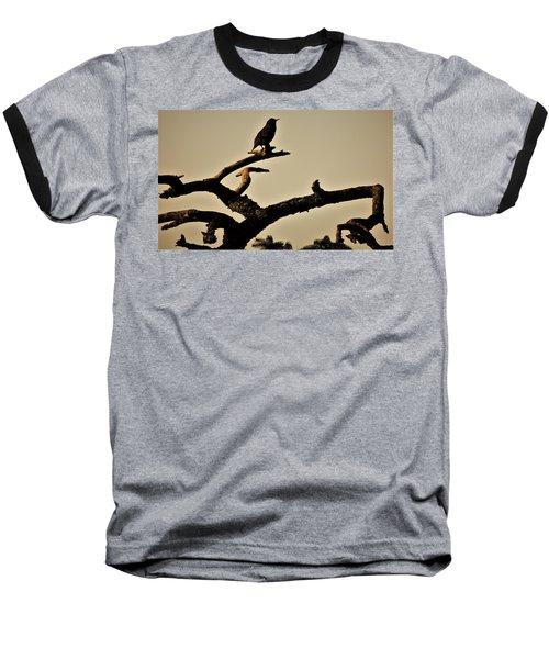 Baseball T-Shirt featuring the photograph Starling by Karen Horn