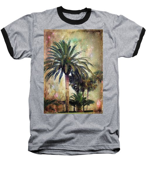 Starry Evening In St. Augustine Baseball T-Shirt by Jan Amiss Photography