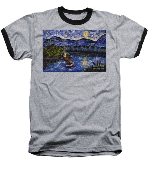 Starry Lake Baseball T-Shirt