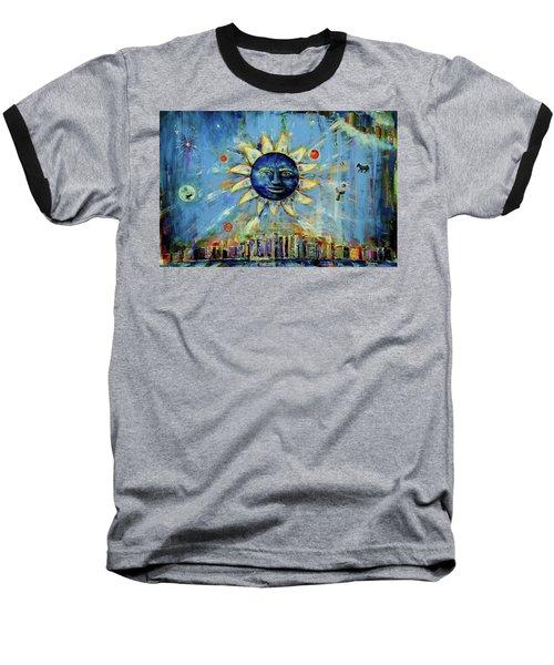 Starry Night 2017 Baseball T-Shirt