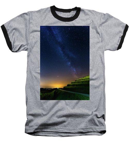 Starry Sky Above Me Baseball T-Shirt