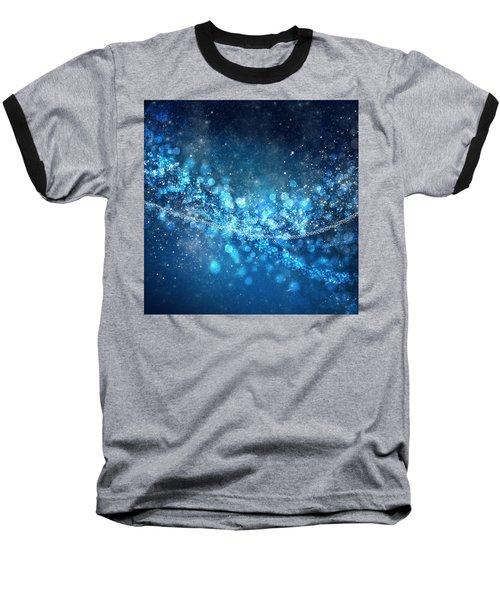 Stars And Bokeh Baseball T-Shirt