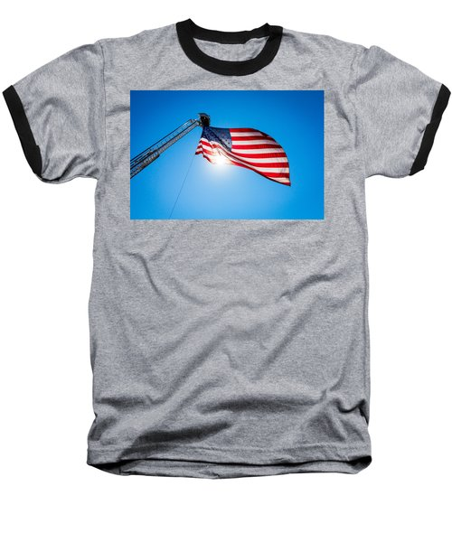 Stars And Stripes Forever Baseball T-Shirt