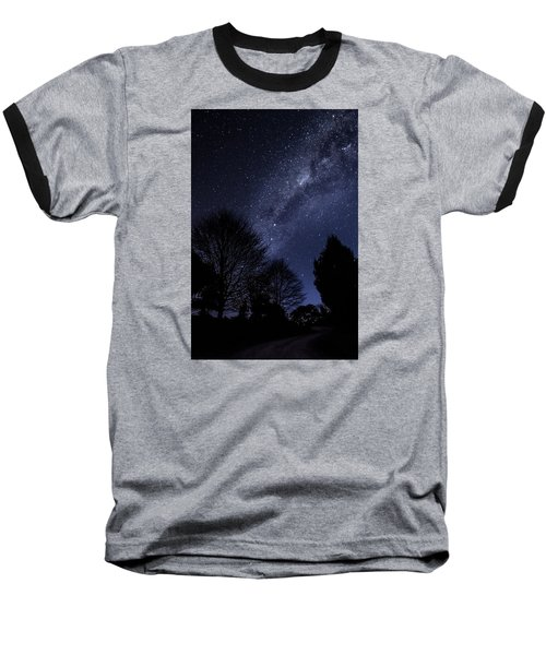 Stars And Trees Baseball T-Shirt