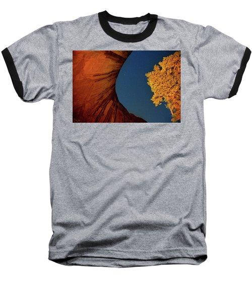 Stars Over Canyon Baseball T-Shirt