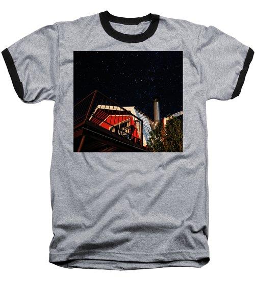 Stars Over Gila Cottage Baseball T-Shirt