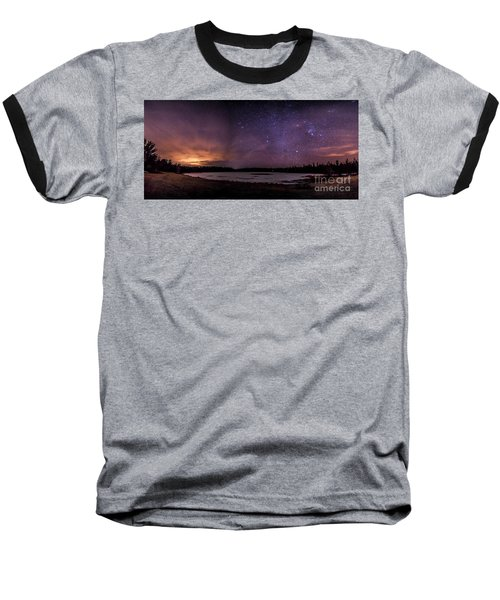 Stars Over Lake Eaton Baseball T-Shirt