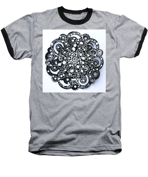 Stars Baseball T-Shirt by Carole Brecht