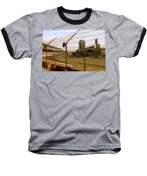 Start Finish Indianapolis Motor Speedway Baseball T-Shirt