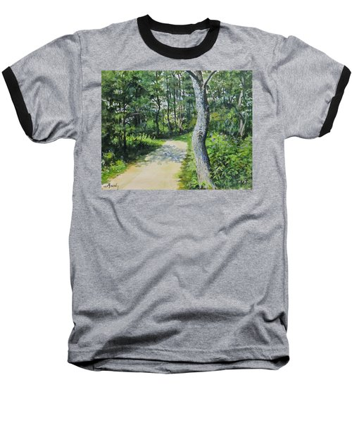 Start Of The Trail Baseball T-Shirt