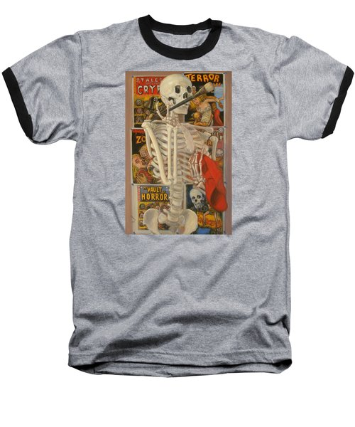Starving Artist Baseball T-Shirt by Donelli  DiMaria