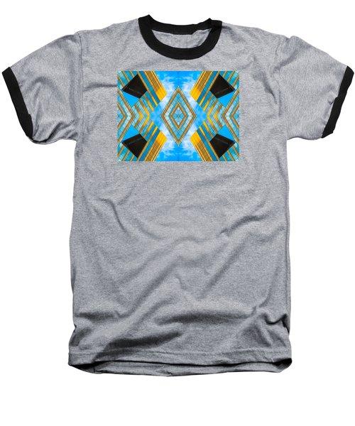 State And Grand Diamond N92 V3  Baseball T-Shirt by Raymond Kunst