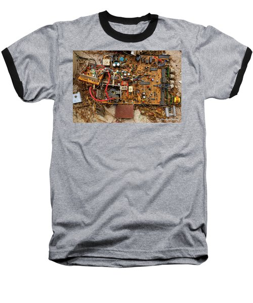Baseball T-Shirt featuring the photograph State Of The Art by Christopher Holmes