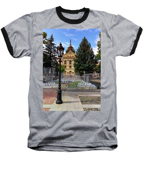 State Theater In The Old Town, Kosice, Slovakia Baseball T-Shirt