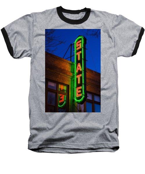 State Theatre - Ithaca Baseball T-Shirt
