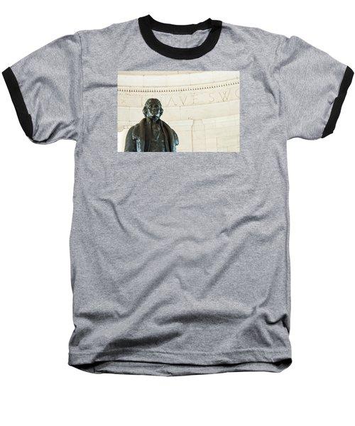 Stately Profile Baseball T-Shirt