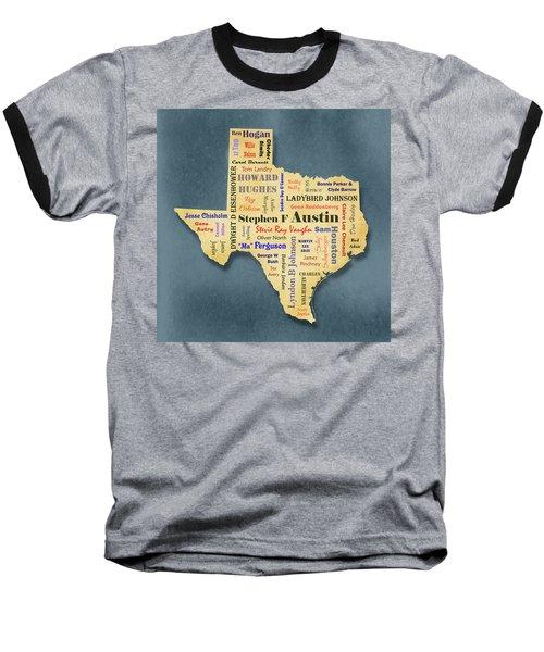 States - Famous Texas Baseball T-Shirt