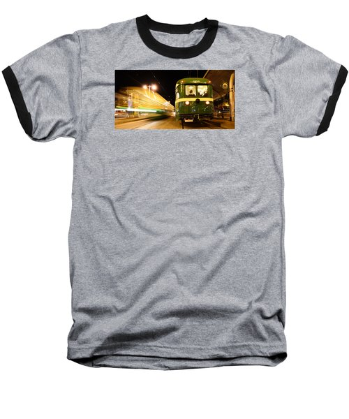 Baseball T-Shirt featuring the photograph Stationary by Steve Siri