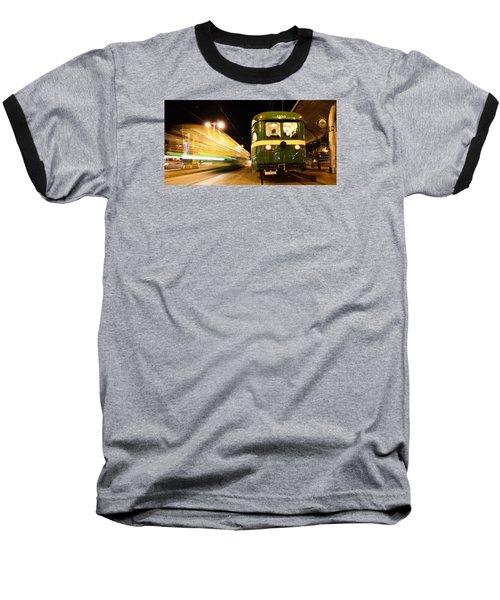 Stationary Baseball T-Shirt by Steve Siri