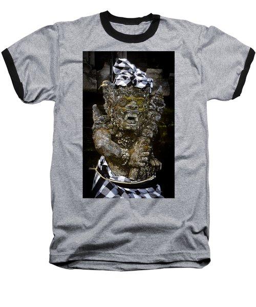 Statue Formalwear Baseball T-Shirt