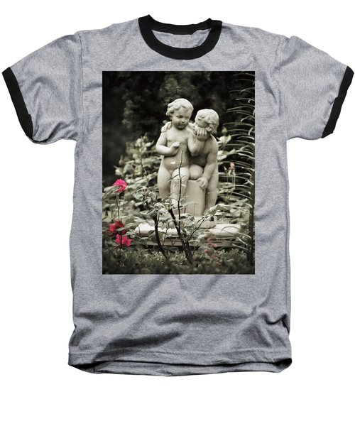 Statue Of Love Baseball T-Shirt