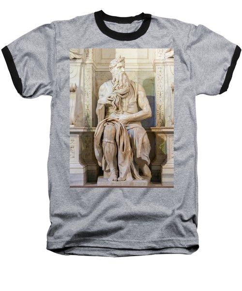 Statue Of Moses Baseball T-Shirt