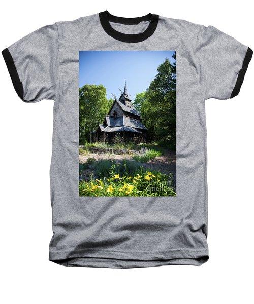 Stavkirke Church Baseball T-Shirt