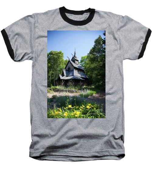 Stavkirke Church Baseball T-Shirt
